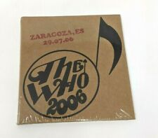 The Who - Encore Series Live 2 CD Set - Zaragoza, ES Spain - CD 2006 - SEALED!