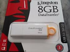 PENDRIVE KINGSTON DE 8GB USB 3.1/ 3.0/ 2.0
