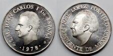 ESPAÑA JUAN CARLOS I y JOSE LOPEZ PORTILLO 1978