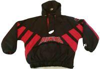 VTG STARTER Detroit Red Wings NHL Hockey Hooded Pullover Jacket XL Center Ice