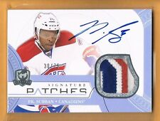2011-12 The Cup P.K. Subban Autograph Game Used Patch /75  Montreal Canadiens