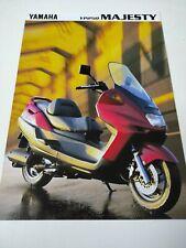 Yamaha YP 250 Majesty 1997 Prospectus Catalogue Brochure Motos