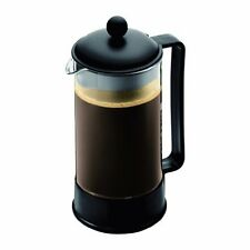 NEW Bodum BRAZIL Coffee Maker French Press Coffee Maker Black 34 Ounce 8 Cup