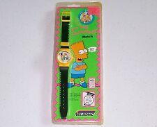 *NEW/SEALED* THE SIMPSONS Vintage 1990 Nelsonic Flip Digital Wristwatch/Watch