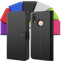Case Cover For Huawei P20 Lite Magnetic Flip PU Leather Wallet Holder Shell Bag