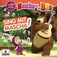 MASCHA UND DER BÄR - SING MIT MASCHA! DIE HITS AUS DER TV-SERIE   CD NEW
