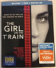 The Girl On the Train w/ Slip Cover (Blu Ray / DVD) Missing case art, No Digital