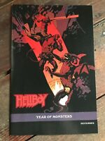 "Hellboy in Hell #1 (2012, Dark Horse) NM ""Year of Monsters"" Variant Mike Mignola"