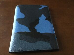 NWT Coach Camo MultiColor Passport Case/Holder/Wallet #32751