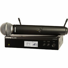 Shure BLX24R/SM58 H10 Half Rack Wireless System with SM58 Handheld Microphone