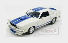 Ford Usa Shelby Mustang Ii Cobra Ii 1976 White Blue Greenlight 1:18 GREEN12880T