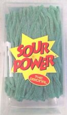Sour Power Green Apple Candy Straws 200 count by Dorval