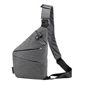 Schultertasche Herren Taschen Brusttasche Sling Bag Crossbody Outdoor Rucksack