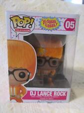 New Nip Funko Pop ! Television Dj Lance Rock 05 Yo Gabba Gabba