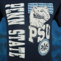 vintage 80s PENN STATE NITTANY LIONS T-Shirt SMALL football psu university thin