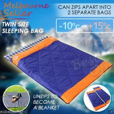 Best Double Outdoor Camping Waterproof Envelope Sleeping Bag Hiking Winter