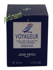 VOYAGEUR POUR HOMME 1.7/1.6 OZ EDT SPRAY FOR MEN BY JEAN PATOU NEW IN BOX