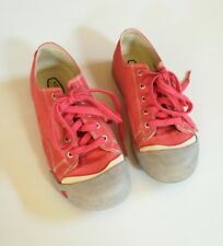 Keen Coronado Canvas Sneakers Size 35 US 3 big kids Womens 4.5 pink comfort shoe