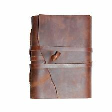 Leather Journal | Antique Bound Writing Scrapbook | Vintage Diary For Adults Tee