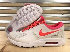 Nike Air Max Zero iD Running Shoes White Infrared Punch SZ 10.5 ( 853860-902 )