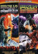 Godzilla vs. Spacegodzilla/Godzilla vs. Destoroyah (2004, REGION 1 DVD New)