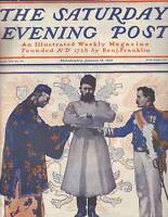 1902 Saturday Evening Post January 18 - J C Leyendecker; Indian Police; Russia