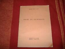 1944 EUGENIO DELLA VALLE BARI 28 GENNAIO EDIZIONE P.L.I BARI CONGRESSO WW2