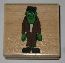 FRANKENSTEIN Rubber Stamp Halloween Crafts Monster Kids Costumes Dress Up New