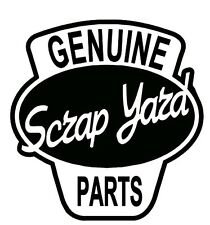 GENUINE SCRAP YARD PARTS - FUNNY CAR STICKER DECAL JDM VW Rat Look