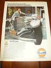 1968 EXCALIBUR SS NEO CLASSIC CUSTOM CAR GULF  ***ORIGINAL VINTAGE AD*** RARE!!!