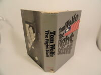 The Right Stuff Thomas Wolfe HC/DJ First Edition First Printing 1979 Astronauts