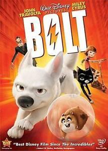 Bolt     (DVD, 2009)  Disney  Miley Cyrus  John Travolta     Brand NEW