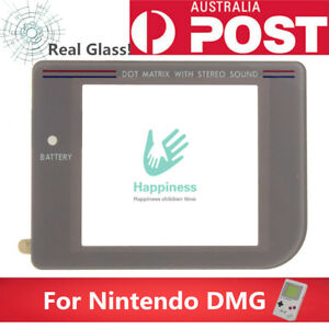 Nintendo GameBoy DMG Screen Lens Light Grey(1 Piece) REAL GLASS! Never Abrasion!