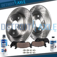 Pair Set of 2 Rear Zimmermann Brake Disc Rotor for BMW E53 X5 4.6is 4.8is 4.4i