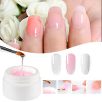 MEET ACROSS 15ml Quick Building Poly Nail UV/LED Gel Jelly Builder Extension Gel