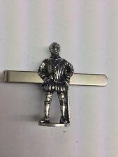 Tudor Sir Francis Drake WE-TP1D  English Pewter emblem on a Tie Clip (slide)