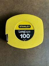 Stanley 34-106 Longtape. 100'/Foot Tape Measure.