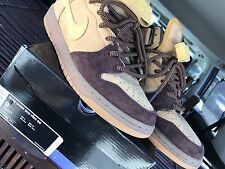 NIKE DUNK MID PRO SB WHEAT BRONZE, Size 9, 100% Authentic 314383-771