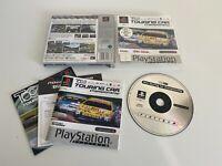 PS1  TOCA Touring Car Championship Platinum - Complete - VGC - Free P&P