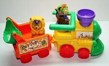 Fisher Price Little People Circus Train Monkey Lion 4 Pieces