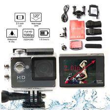 "2016 NEW HD 720P Sports DVR Waterproof camcorder DV SJ4000 12MP 2.0"" Black"