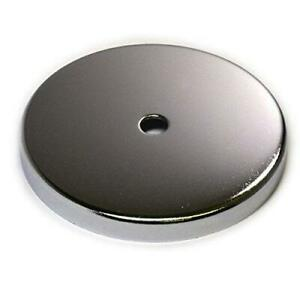 "2 PC Cup Magnets Round Base Magnet RB85 w/ 120 LB Holding Power 3.8"" Dia for"