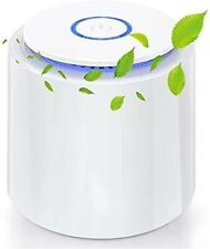 Hauea Air Purifiers for Home Bedroom, Desktop Usb Air Cleaner with Night Light