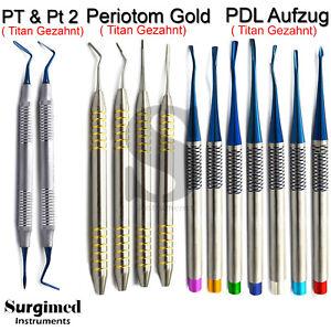 Zahnexcratkion Wurzelheber Chirurgie Periotome dental Luxier PDL Chirurgisch Neu