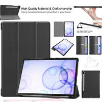 For Samsung Galaxy Tab S6 T860 T865 Leather Case Magnetic Stand Book Smart Cover