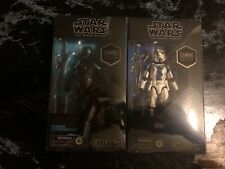 Star Wars The Force Unleashed Black Series Stormtrooper Commander And Shadow