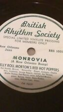 jelly roll morton's red hot peppers monrovia & someday sweetheart brs-1001