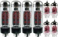 JJ Tesla Premium Tube Complement Set for Marshall JCM 2000 TSL 100 JVM 410