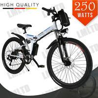 "26"" EBike Folding Bicycle Electric Bike Mountain Bike 36V 250W US Lot"