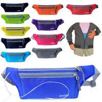 Women Men Running Bag Waterproof Sport Camping Hiking Belt Bum Waist Pouch Pack